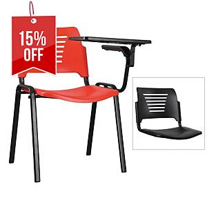 Artrich Training Chair With Writing Tablet Black