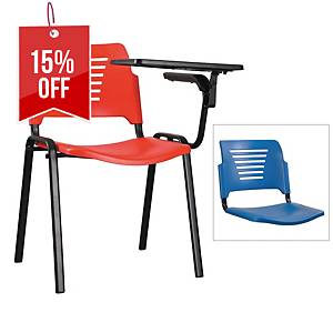Artrich Training Chair With Writing Tablet Blue