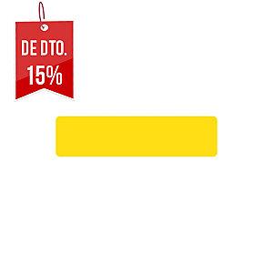 Pack de 10 etiquetas adesivas para chão TARIFOLD forma tira cor amarelo