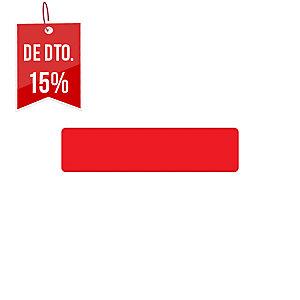 Pack de 10 etiquetas adesivas para chão TARIFOLD forma tira cor vermelho
