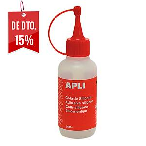 Cola de silicone APLI 100 ml