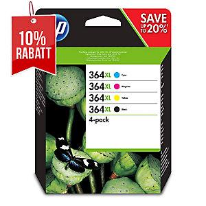 Tintenpatrone HP No.364XL N9J74AE, 550 Seiten schwarz, 700 Seiten farbig