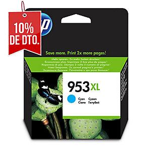 CARTUCHO DE TINTA INK HP 953XL CIAN F6U16AE