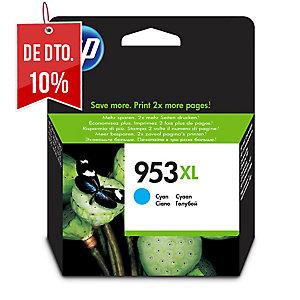 CARTUCHO DE0 TINTA HP 953XL CIAN F6U16AE