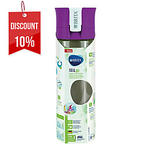 BRITA FILL&GO BOTTLE PINK 60CL