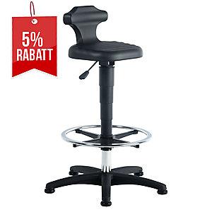 Arbeitsdrehstuhl Prosedia 9419, kurze Rückenlehne, schwarz
