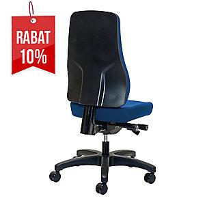 Krzesło PROSEDIA Younico 2456, niebieskie *BEZ PODŁOKIETNIKÓW