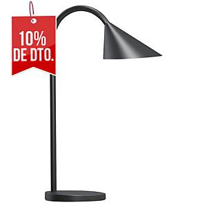 Lámpara Unilux Sol - LED - brazo flexible - negro