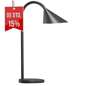 Candeeiro Unilux Sol - LED - braço flexível - preto