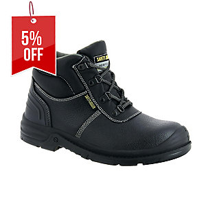 SAFETY JOGGER BESTBOY 2 S3 HIGH CUT BLACK SAFETY SHOES SIZE 41