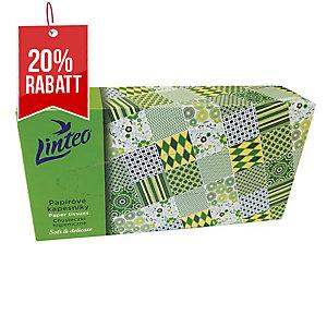 Papiertücher in Box Linteo Satin 100 Stück
