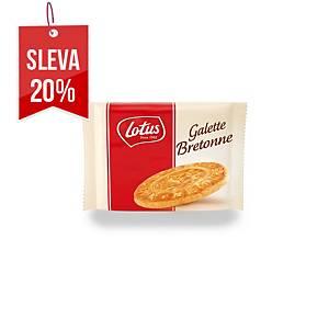 Máslové bretaňské sušenky Lotus, 30 ks x 7 g
