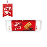 Karamelové sušienky Lotus polomáčané v čokoláde 154 g