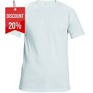 TEESTA T-SHIRT COTTON L WHITE