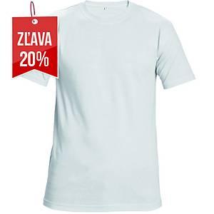 Tričko s krátkym rukávom Cerva Teesta, veľkosť L, biele