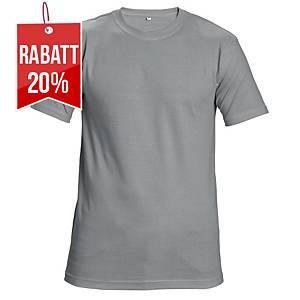 CERVA TEESTA T-Shirt mit kurzen Ärmeln, Größe L, grau