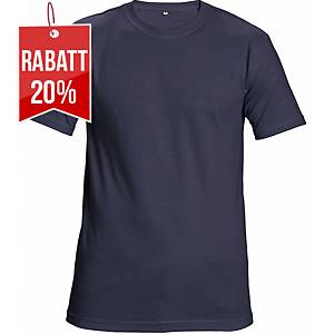 CERVA TEESTA T-Shirt mit kurzen Ärmeln, Größe M, marineblau