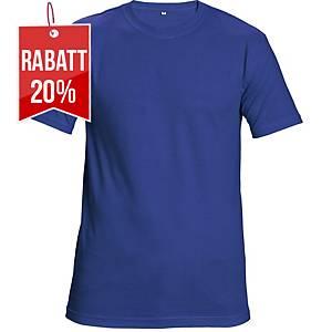 CERVA TEESTA T-Shirt mit kurzen Ärmeln, Größe M, königsblau