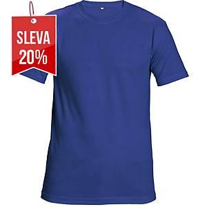 Tričko s krátkým rukávem CERVA TEESTA, velikost M, královská modrá