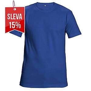 Tričko s krátkým rukávem CERVA GARAI, velikost XL, modré