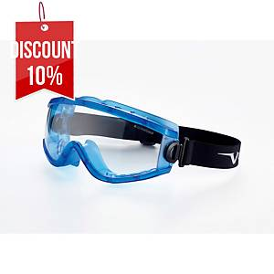 UNIVET 619 INDIRECT VENTED GOGGLES CLEAR