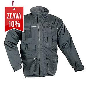 LIBRA Zimná bunda 3XL sivá