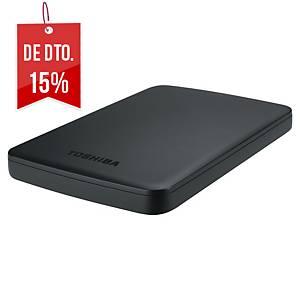 Disco rígido Toshiba - USB 3.0 - 1 TB - 2,5  - preto