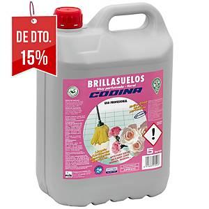 Lava chão La Oca Brillant - 5 L - aroma floral