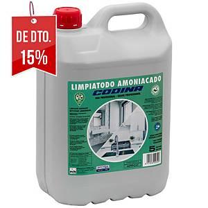 Produto de limpeza à base de amoníaco Codina - 5 L - perfumado