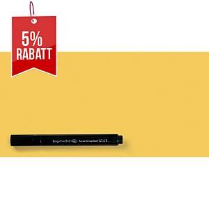 Magic Chart Notes Legamaster 159405, elektrostatisch haftend, 10x20, gelb, 100St
