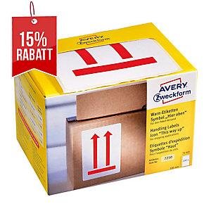 Avery Zweckform Symbol Warnetiketten Hier oben, 200 Etiketten per Packung
