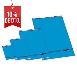 Block de hojas Enri - folio - 80 hojas - cuadriculado