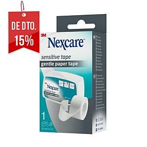 Dispensador com esparadrapo de papel NEXCARE para peles sensíveis