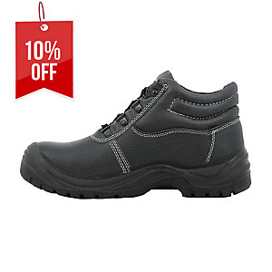 SAFETY JOGGER SAFETYBOY S1P BLACK SAFETY SHOES SIZE 41