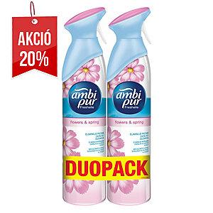 Ambi Pur légfrissítő spray, Flowers&Spring 300 ml, 2 darab/csomag