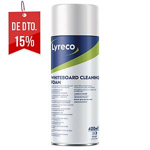 Espuma de limpeza Lyreco para quadro branco - garrafa de 400 ml