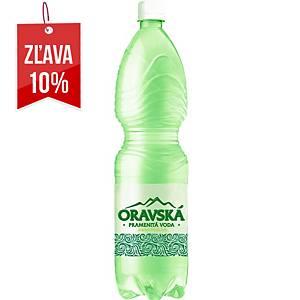 Oravská voda jemne perlivá 1,5 L, balenie 6 kusov